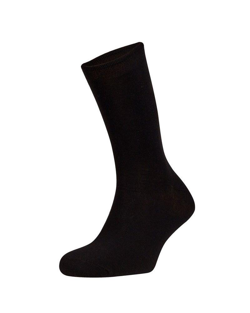 Calcetín Caballero Liso negro