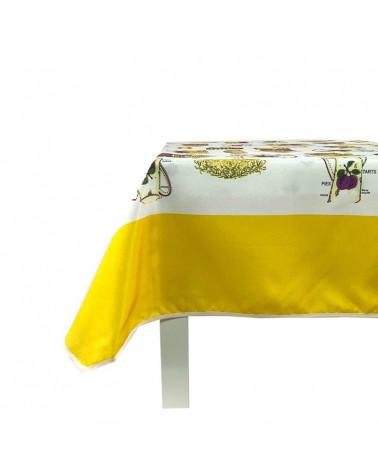 Mantel Antimanchas Teteras amarillo