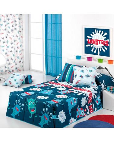Edredón Conforter Monsters by Cañete azul